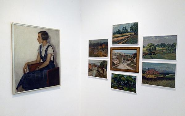 Bronka Guirova paintings exhibition in Varna September 2018