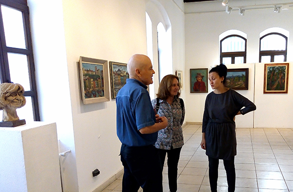 Bronka Guirova paintings exhibition in Varna September 2018