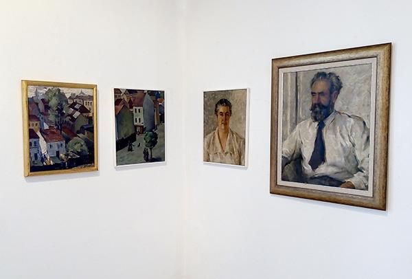 Bronka Guirova exhibition in Varna City Art Gallery, Bulgaria